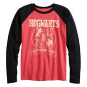 Boys 8-20 Harry Potter Hogwarts Crest Tee
