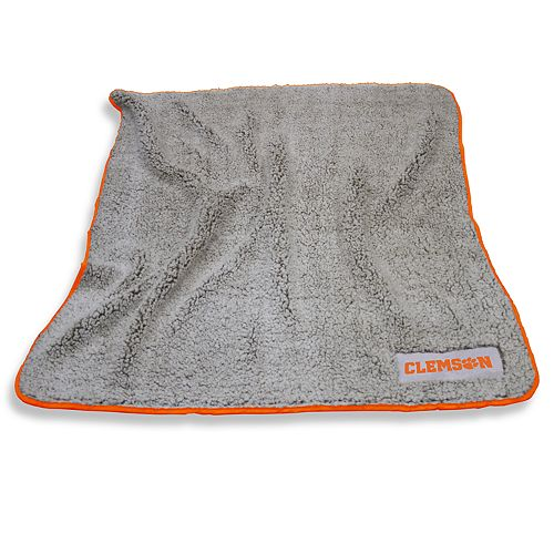Clemson Tigers Frosty Fleece Throw Blanket