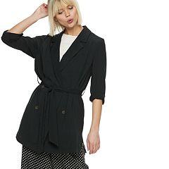 Women's POPSUGAR Belted-Waist Jacket