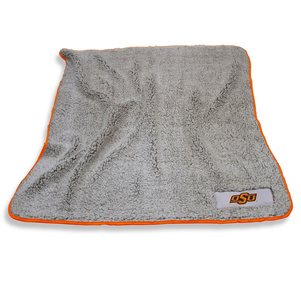 Oklahoma State Cowboys Frosty Fleece Throw Blanket