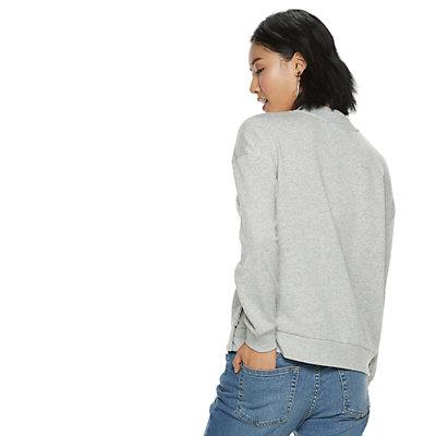Women's POPSUGAR Snap-Side Sweatshirt