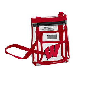 Wisconsin Badgers Gameday Clear Crossbody Bag