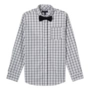 Boys 8-14 French Toast Shirt & Bow Tie Set