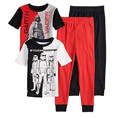 Boys 6-12 Star Wars Darth Vader 4-Piece Pajama Set