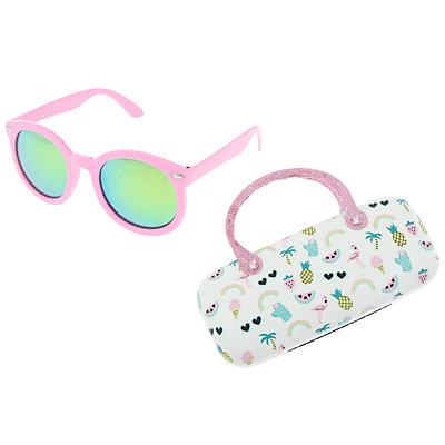Girls Elli by Capelli Summer Fun Sunglasses & Case Set