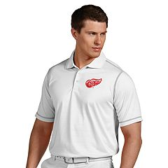 Men's Antigua Detroit Red Wings Icon Polo