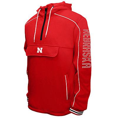 Men's Franchise Club Nebraska Cornhuskers Edge Anorak Pullover