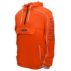 Men's Franchise Club Oklahoma State Cowboys Edge Anorak Pullover