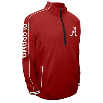 Men's Franchise Club Alabama Crimson Tide Edge Pullover Jacket