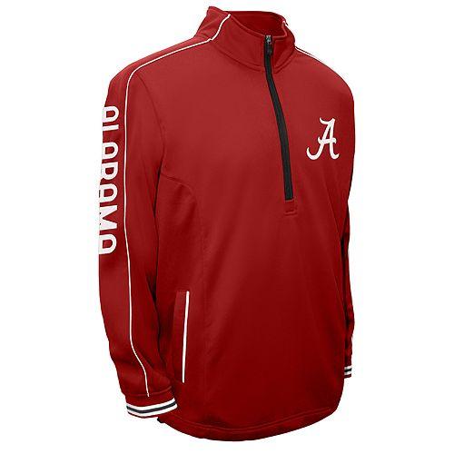 Men's Franchise Club Alabama Crimson Tide Edge Pullover Jacket