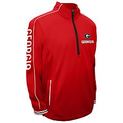 Men's Franchise Club Georgia Bulldogs Edge Pullover Jacket