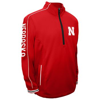 Men's Franchise Club Nebraska Cornhuskers Edge Pullover Jacket