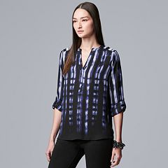 Women's Simply Vera Vera Wang Crepe Blouse