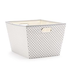 SONOMA Goods for Life™ Gray Ikat Storage Tote