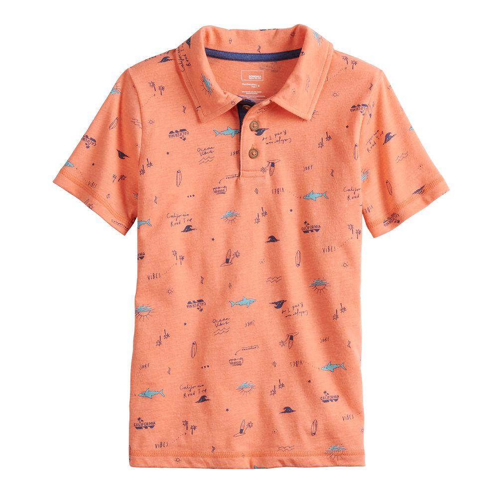 Boys 4-12 SONOMA Goods for Life® Ocean Themed Polo