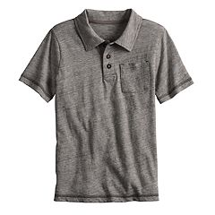 Boys 4-12 SONOMA Goods for Life™ Heathered Pocket Polo
