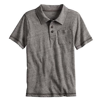 Boys 4-12 SONOMA Goods for Life? Heathered Pocket Polo