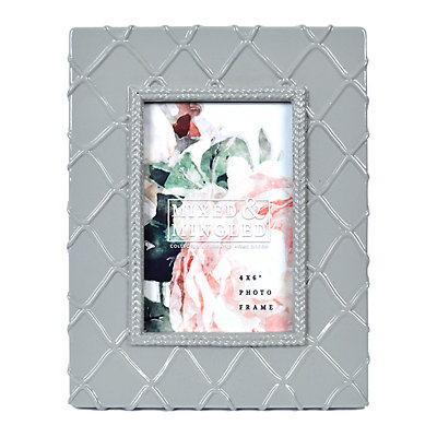 """New View Gifts 4"""" x 6"""" Textured Green Gloss Frame"""