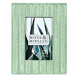 """New View Gifts 4"""" x 6"""" Textured Light Green Frame"""