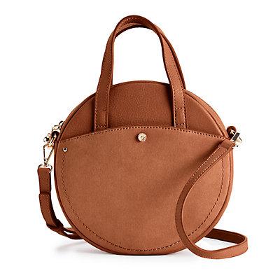 LC Lauren Conrad Lydia Round Crossbody Mini Bag