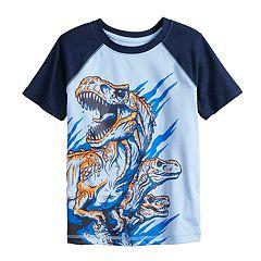 Boys 4-12 Jumping Beans® Dinosaurs Raglan Active Tee