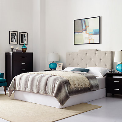 Dwell Home Upholstered Tufted Full / Queen Headboard