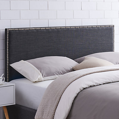 Dwell Home Basic Nailhead Upholstered Headboard