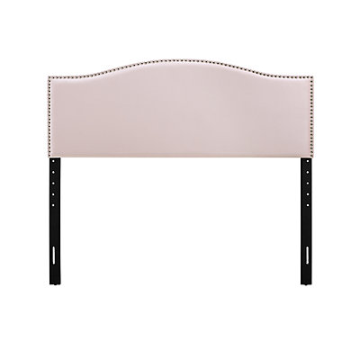 Dwell Home Basic Upholstered Curved Headboard