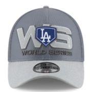 Adult New Era Los Angeles Dodgers 2018 World Series Bound Locker Room 39THIRTY Flex-Fit Cap
