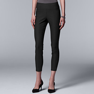 Women's Simply Vera Vera Wang Simply Ultra Stretch Ankle Pants