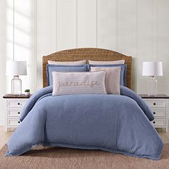 Oceanfront Resort Chambray Coast Duvet Cover Set