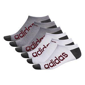 Men's adidas 6-pack Climalite Superlite Linear No-Show Socks