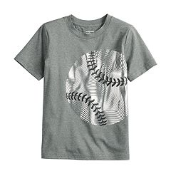 Boys 4-12 Jumping Beans® Metallic Baseball Active Tee