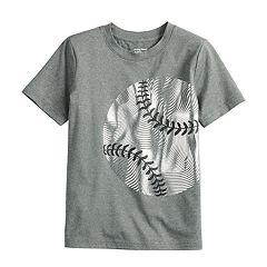 Boys 4-12 Jumping Beans® Metallic Baseball Active Tee