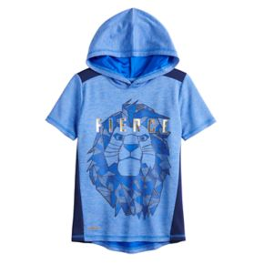 """Disney's The Lion King Boys 4-12 Mufasa """"Fierce"""" Pieced Active Hoodie by Jumping Beans®"""