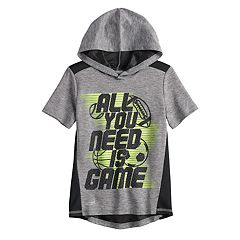 Boys 4-12 Jumping Beans® 'All You Need Is Game' Sports Active Hoodie