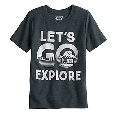 Boys 4-12 Jumping Beans® 'Let's Go Explore' Camping Graphic Tee