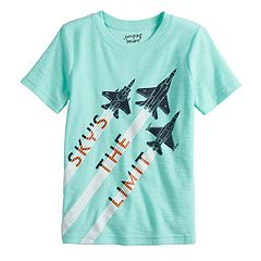 Boys 4-12 Jumping Beans® Fighter Jets 'Sky's The Limit' Slubbed Graphic Tee