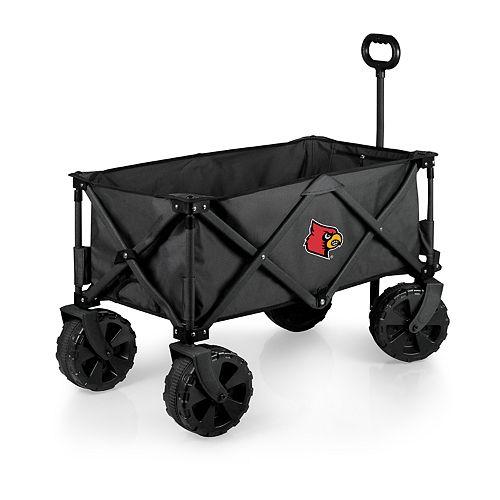 Picnic Time Louisville Cardinals Adventure All-Terrain Wagon