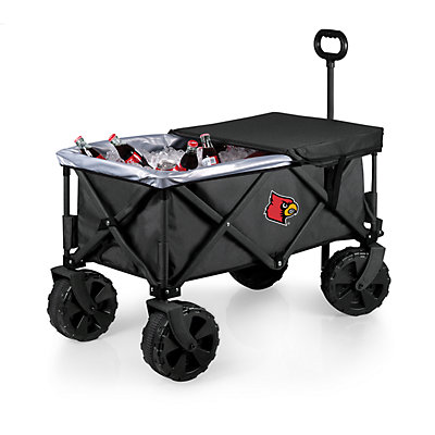 Picnic Time Louisville Cardinals Adventure All-Terrain Wagon