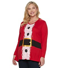 Plus Size MCCC Sport Holiday Swing Top