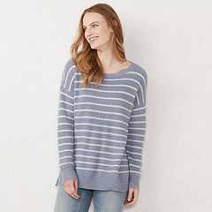 Women's LC Lauren Conrad High-Low Tunic Sweater