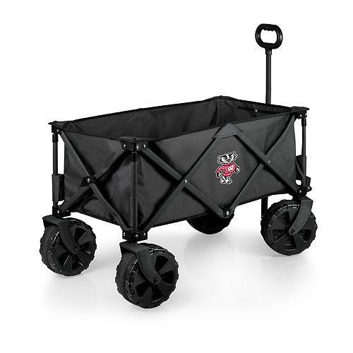 Picnic Time Wisconsin Badgers Adventure All-Terrain Wagon