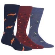 Men's Chaps 3-pack Solid Supersoft Crew Dress Socks