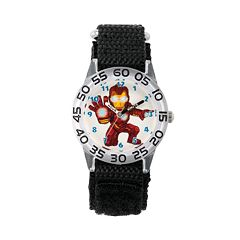 Marvel's Superhero Adventure Iron Man Kids' Time Teacher Watch