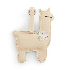 LC Lauren Conrad Llama Luggage Tag