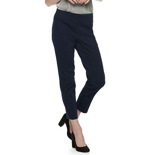Women's ELLE™ Pull-On Ankle Pants