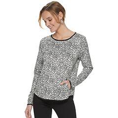Women's ELLE™ 2-pocket Pullover Top