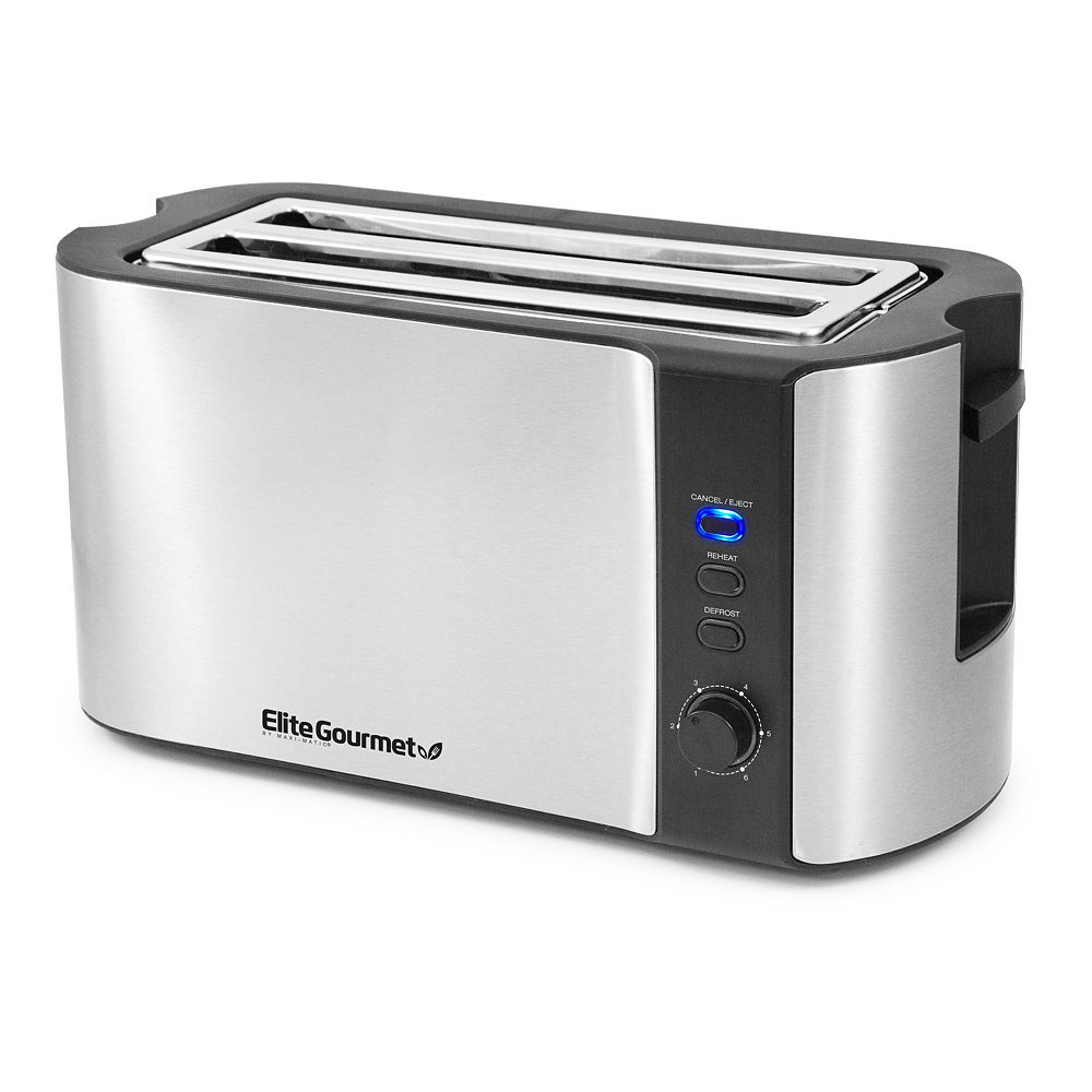 Elite Gourmet Multi-Function 4-Slice Toaster
