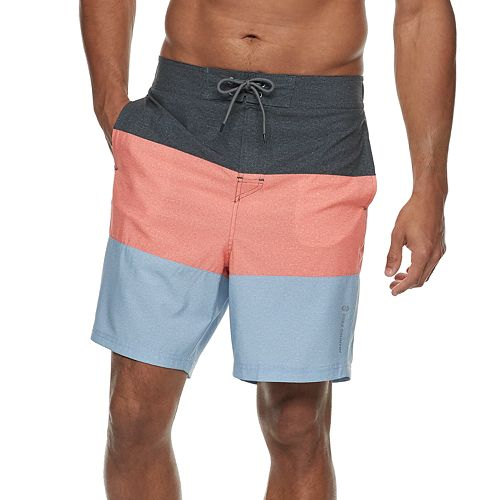 Men's Free Country Colorblock Textured Swim Shorts